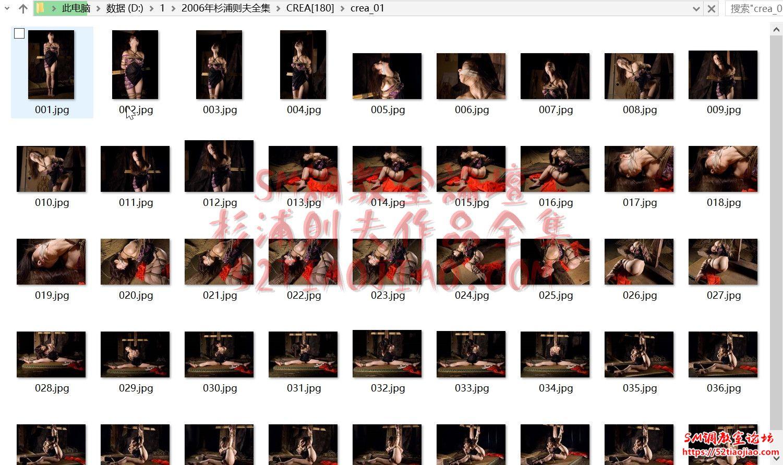日本杉浦则夫2006年作品全集下载示例图