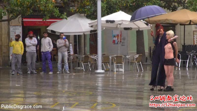 [歐美/無碼][PD-40595/40596] 雨中受虐的小婊子諾拉 [MP4/2.58GB]