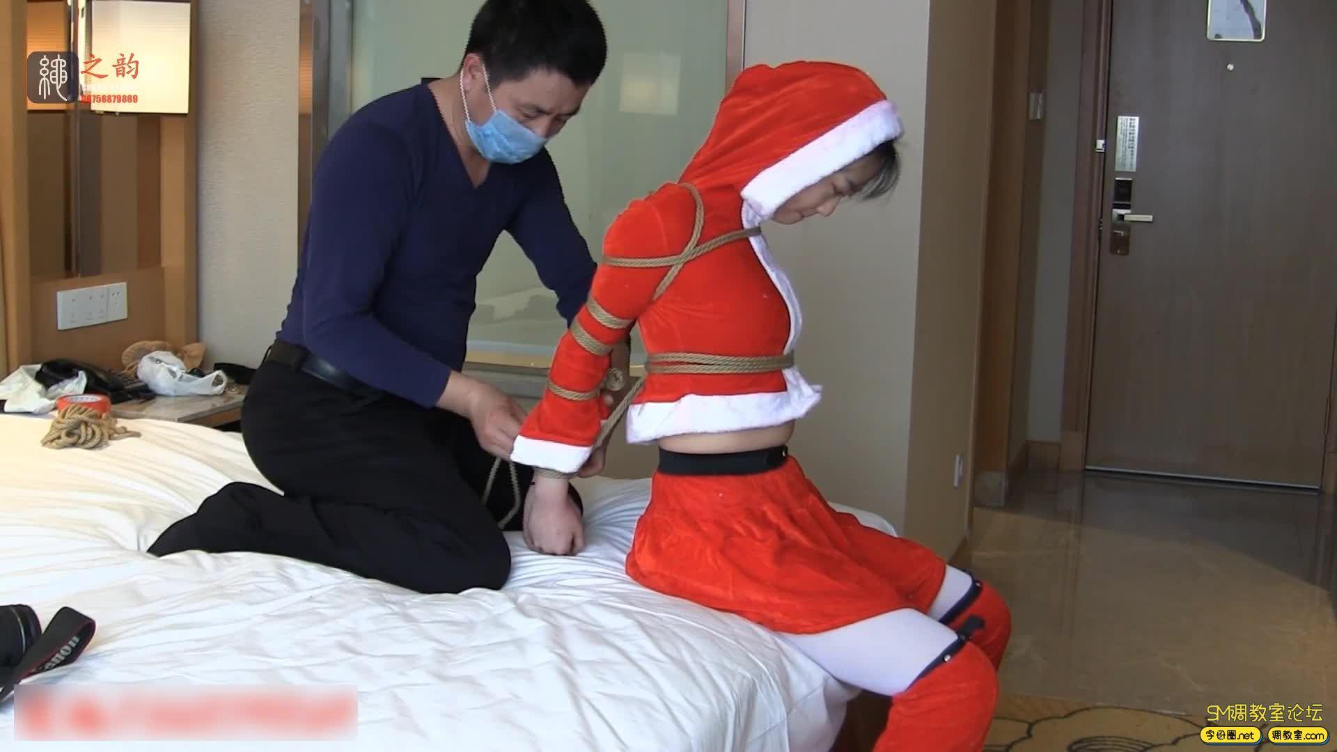 绳之韵 小鹿 打好包的圣诞礼物-1.jpg-SM调教所论坛[国产绳艺在线播放专区]