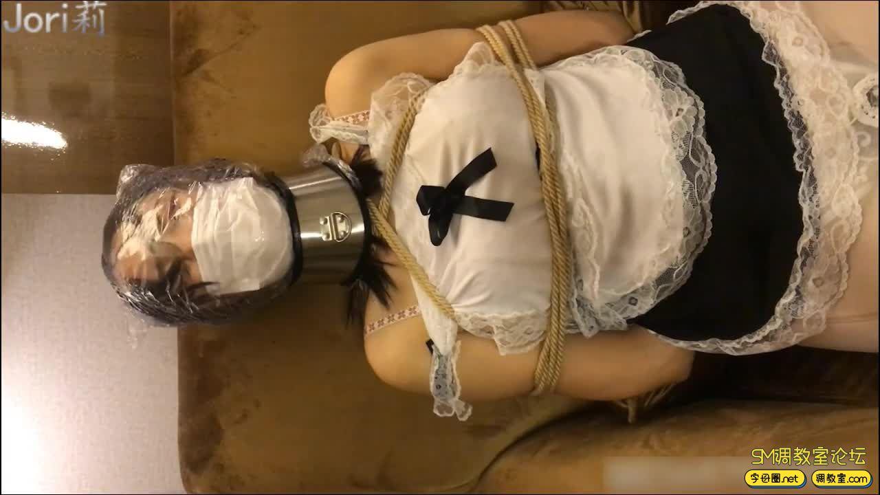 jori莉原创 女仆少女热缩膜窒息T教 新年贺岁!-3.jpg-SM调教所论坛[国产绳艺在线播放专区]