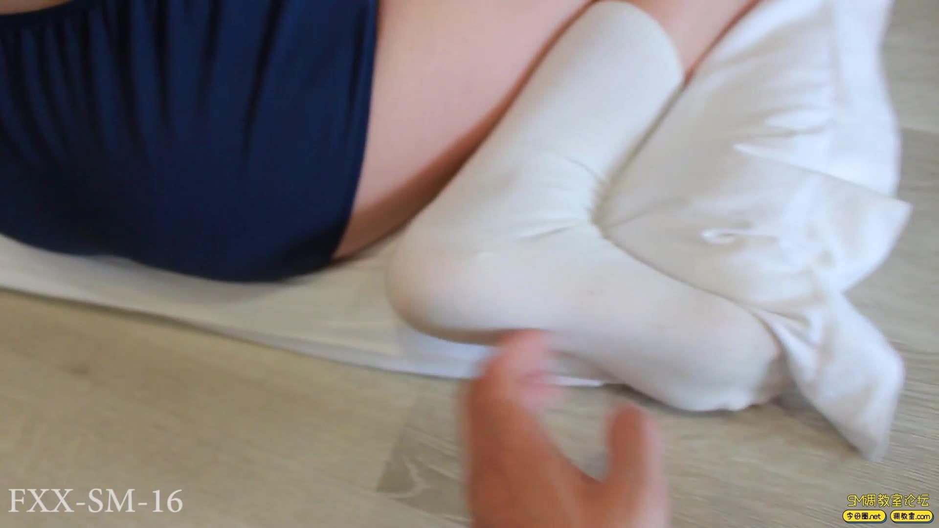 【FXX】最强电击器 体操服股绳捆绑调教-视频截图1