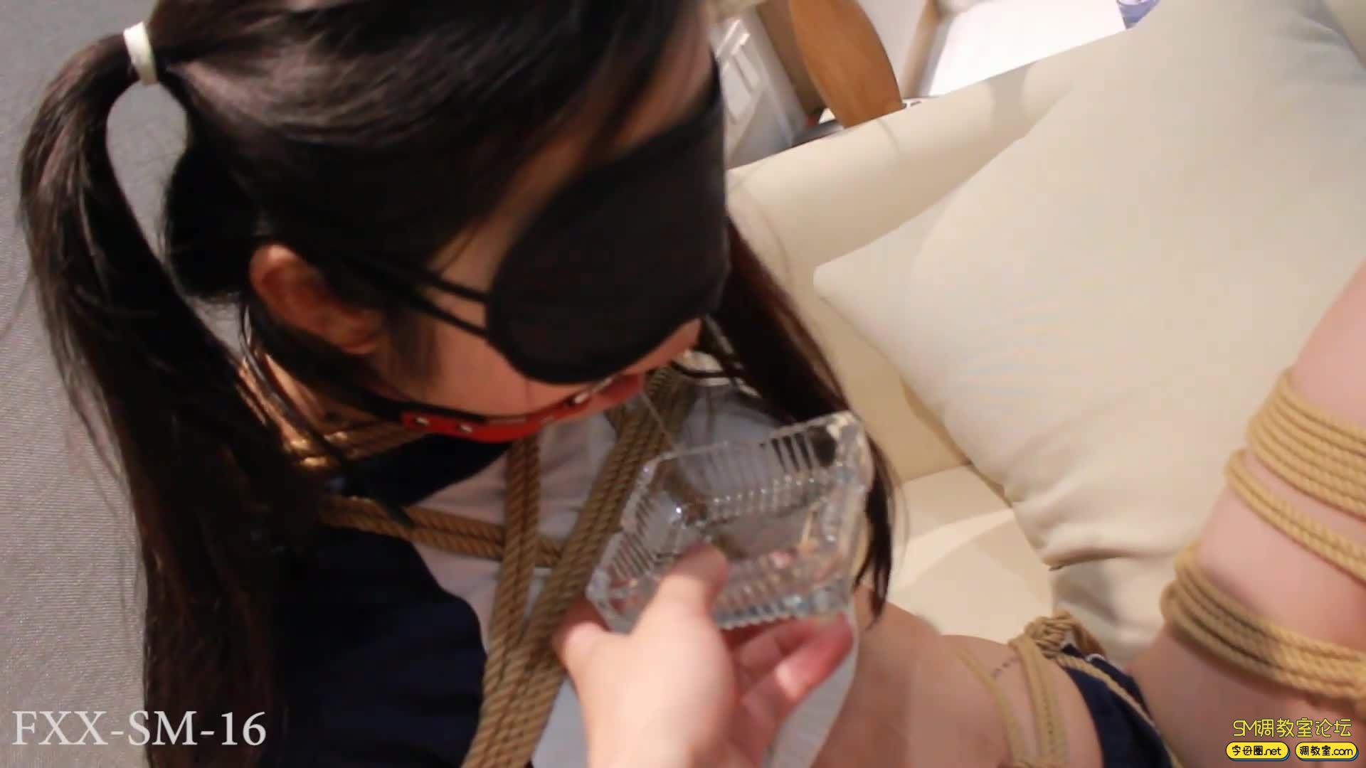 【FXX】最强电击器 体操服股绳捆绑调教-视频截图5