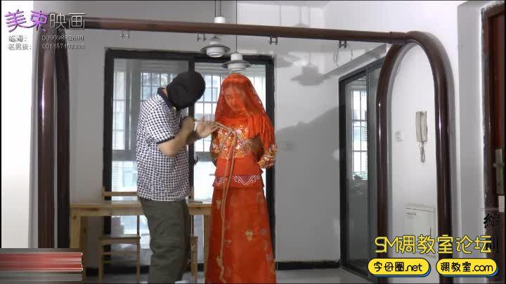 美丽的新娘 中式礼服-视频截图3