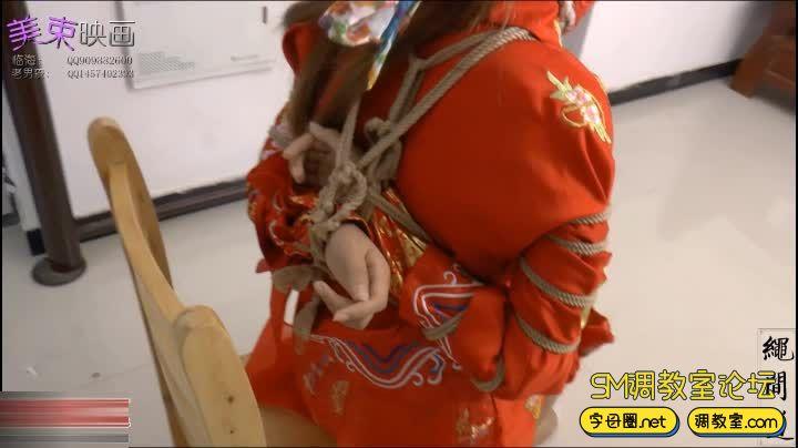 美丽的新娘 中式礼服-视频截图7