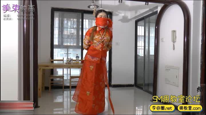 美丽的新娘 中式礼服-视频截图6
