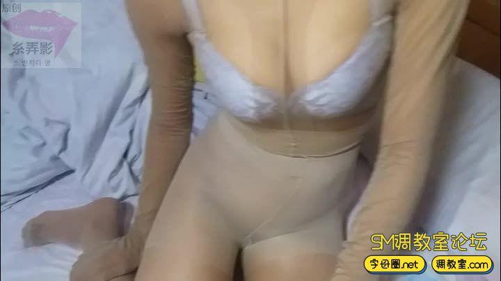 绳子与丝袜 强制口环-视频截图1