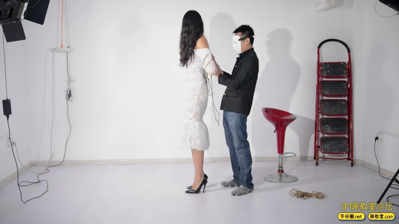 撒琅制造 小雅绳艺展示01 蕾丝裙-视频截图1