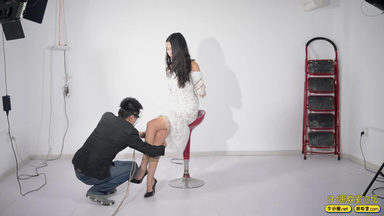 撒琅制造 小雅绳艺展示01 蕾丝裙-视频截图2