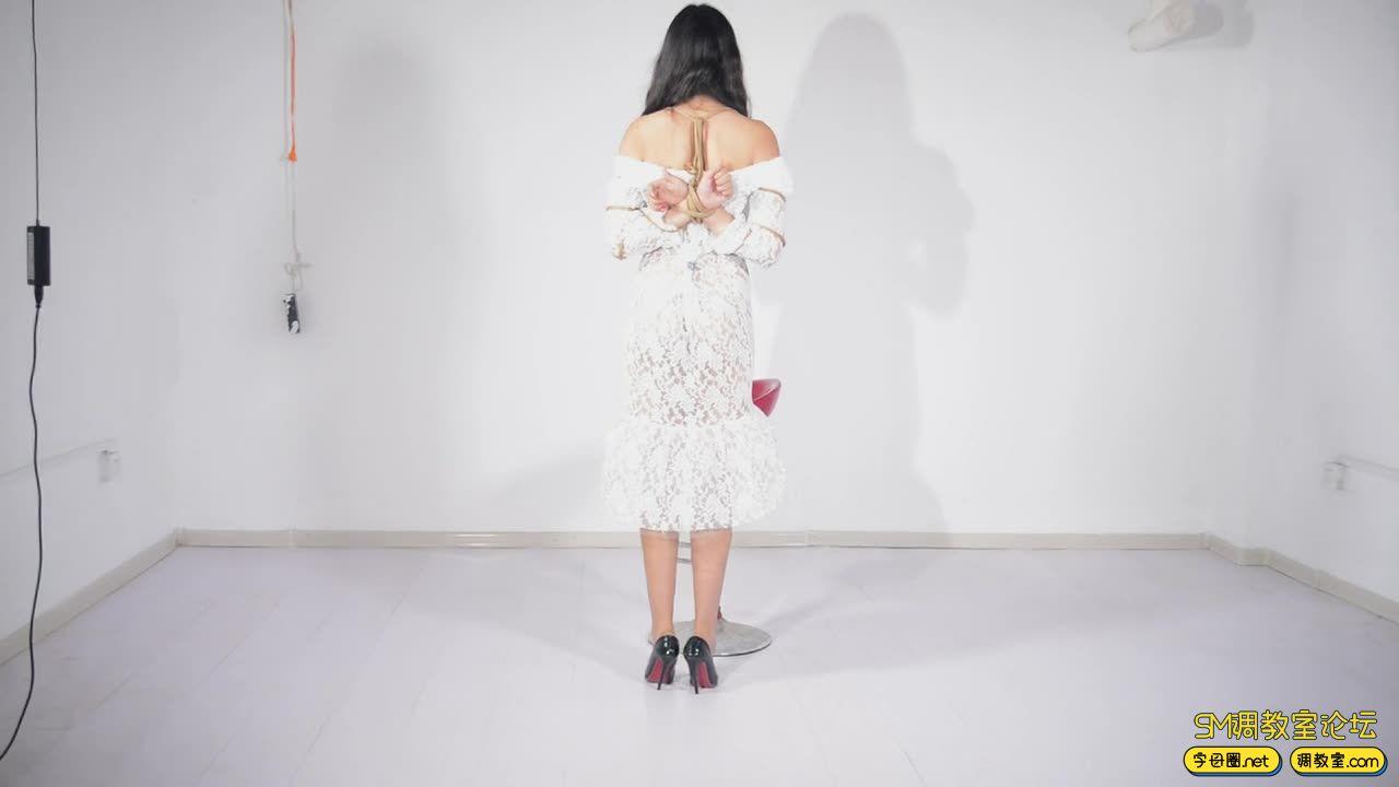 撒琅制造 小雅绳艺展示01 蕾丝裙-视频截图4