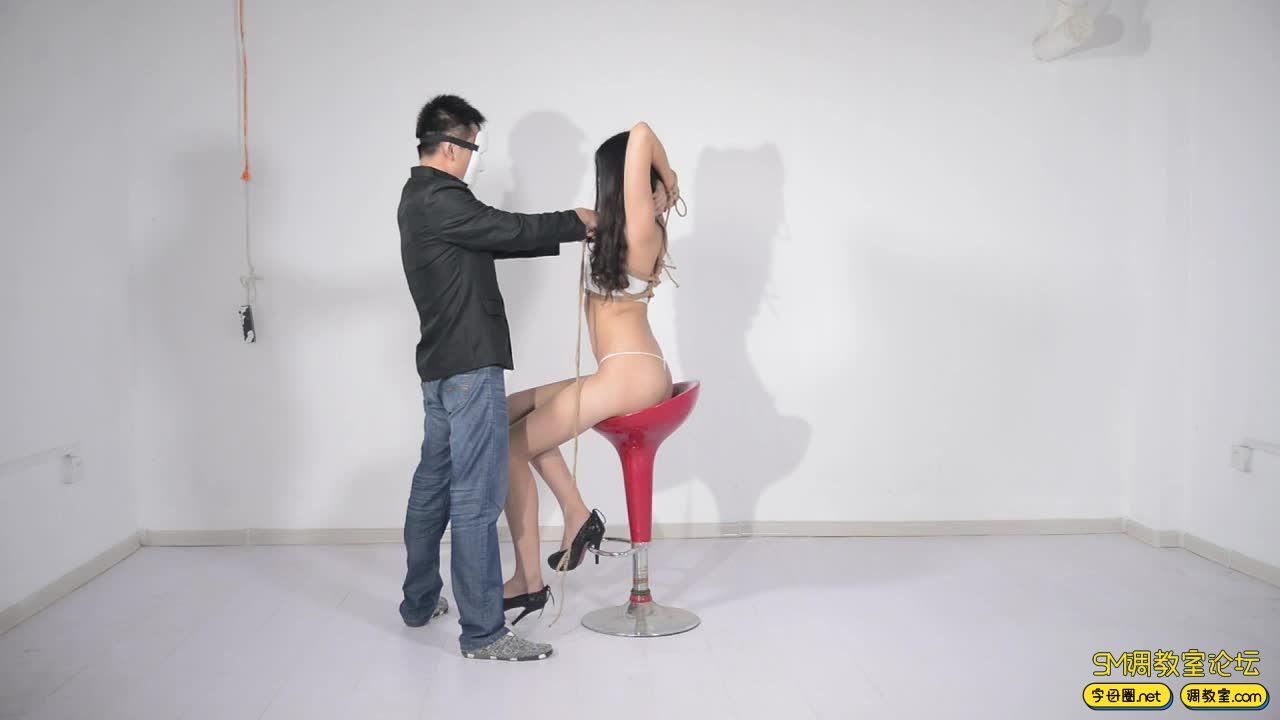 撒琅制造 小雅绳艺展示01 蕾丝裙-视频截图8