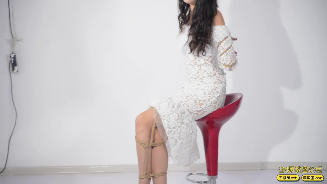 撒琅制造 小雅绳艺展示01 蕾丝裙-视频截图3