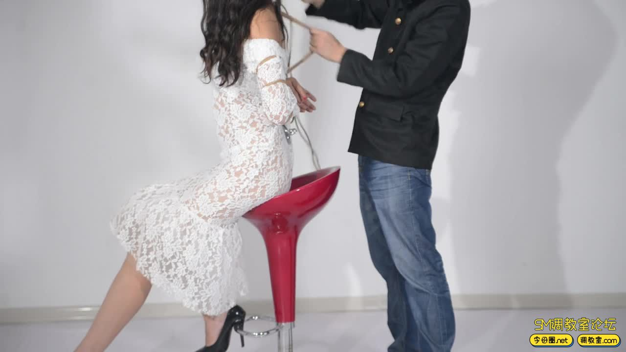 撒琅制造 小雅绳艺展示01 蕾丝裙-视频截图5