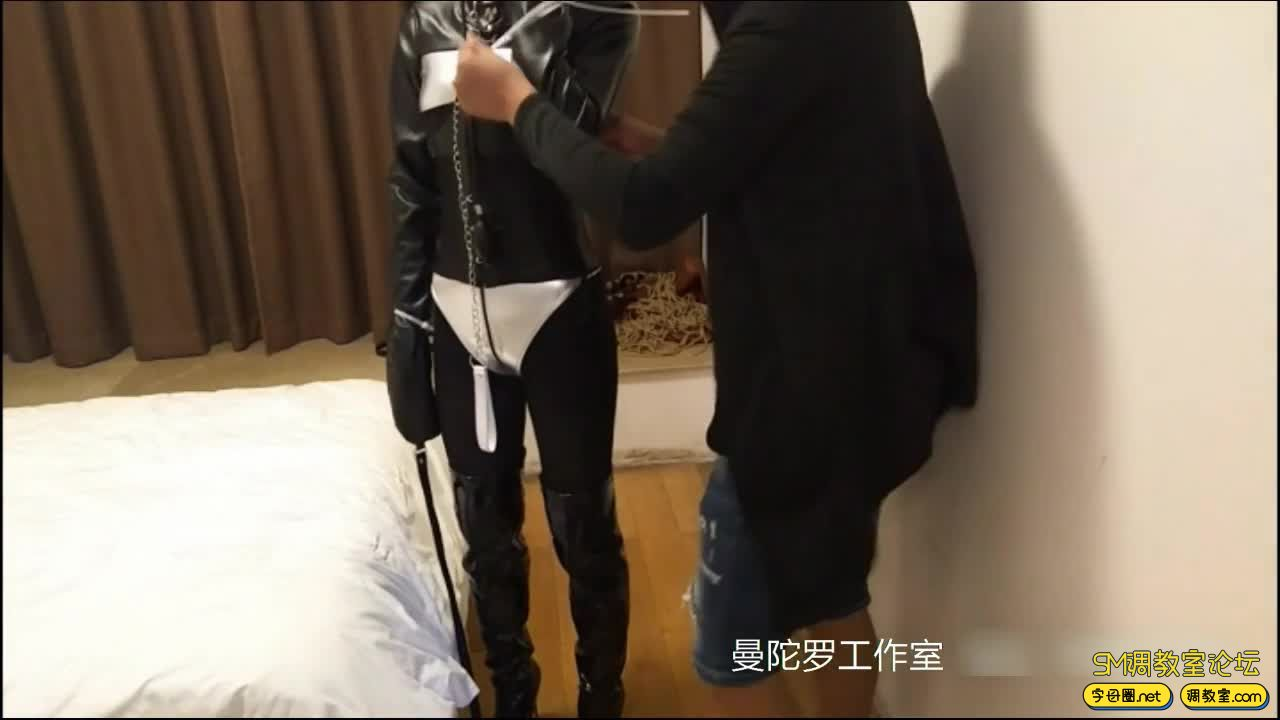 拘束衣 扎带配合强制拘束 加尾巴-视频截图7