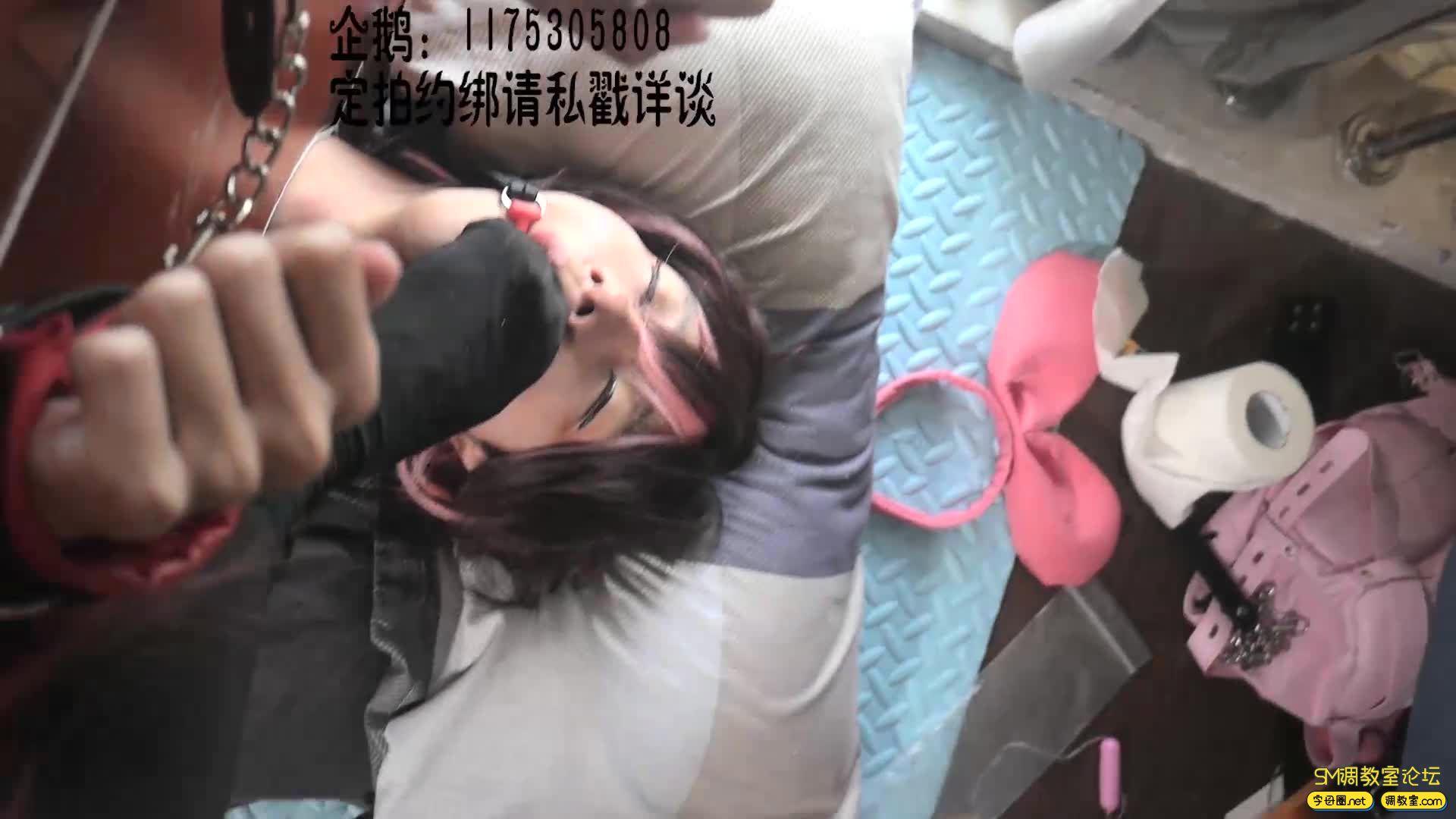 【莉雅的紧缚实验】拘束箱初次登场 五河琴里X绊爱 COSPLAY-视频截图3