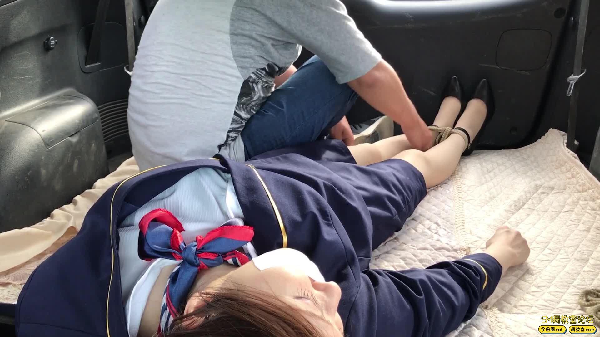 【旋律受虐记15】 空姐的磨难之街头绑架篇-视频截图2