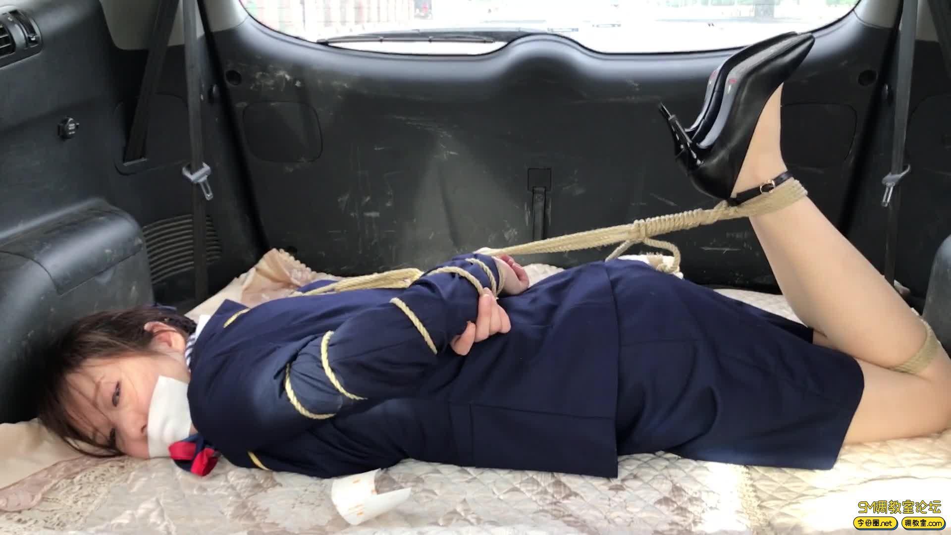 【旋律受虐记15】 空姐的磨难之街头绑架篇-视频截图7