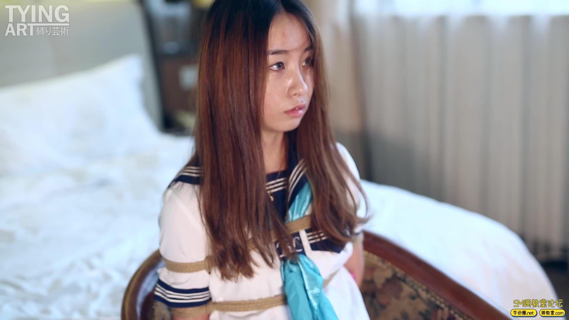 TYINGART新作美少女スレーブ養成日記 整片01 女孩在路上突然被捉了,然後被培養成M-视频截图3