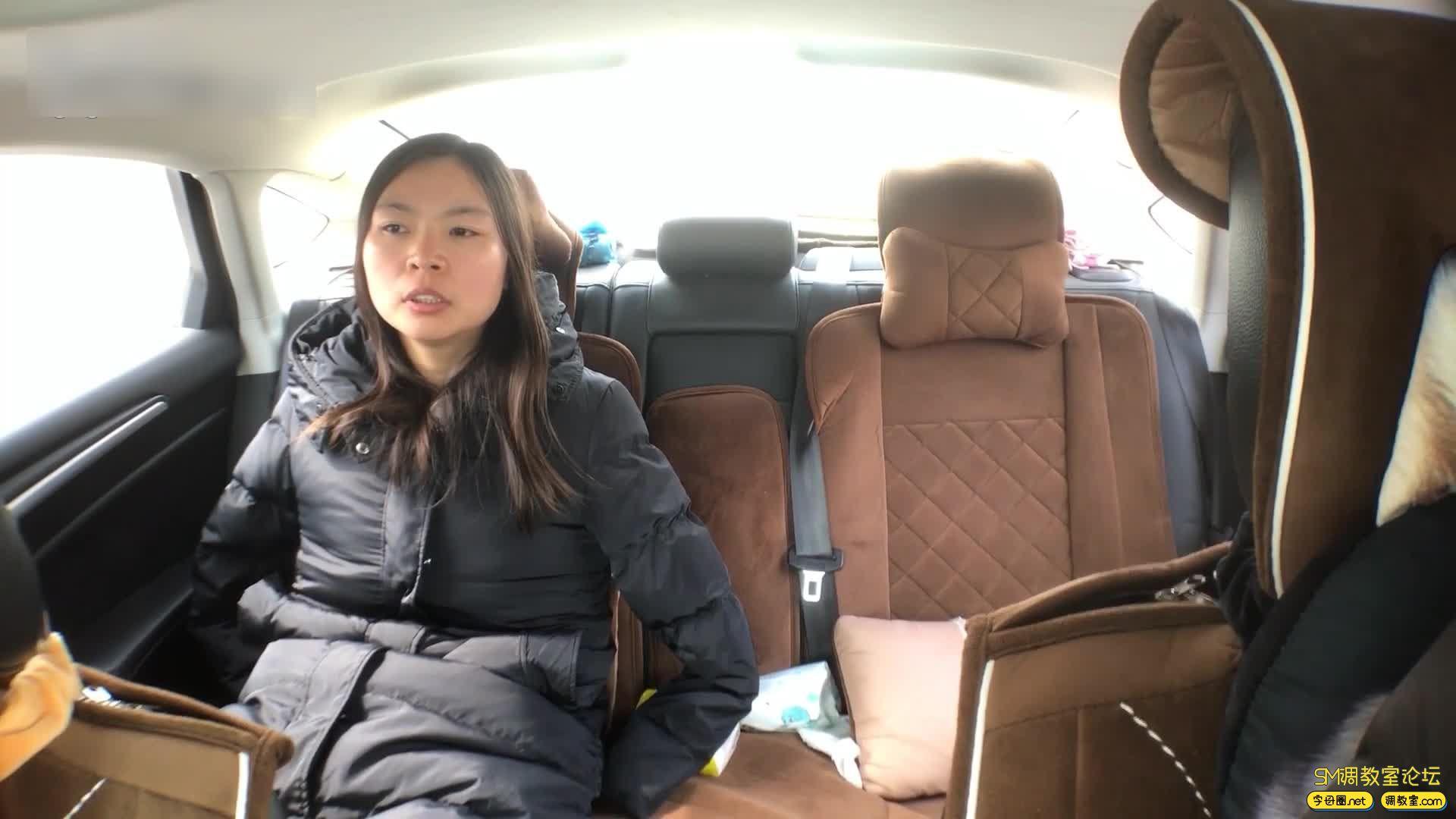 虐恋天使_培培 全程户外,挑战极限-车内捆绑 公园 建筑工地吊绑-视频截图1