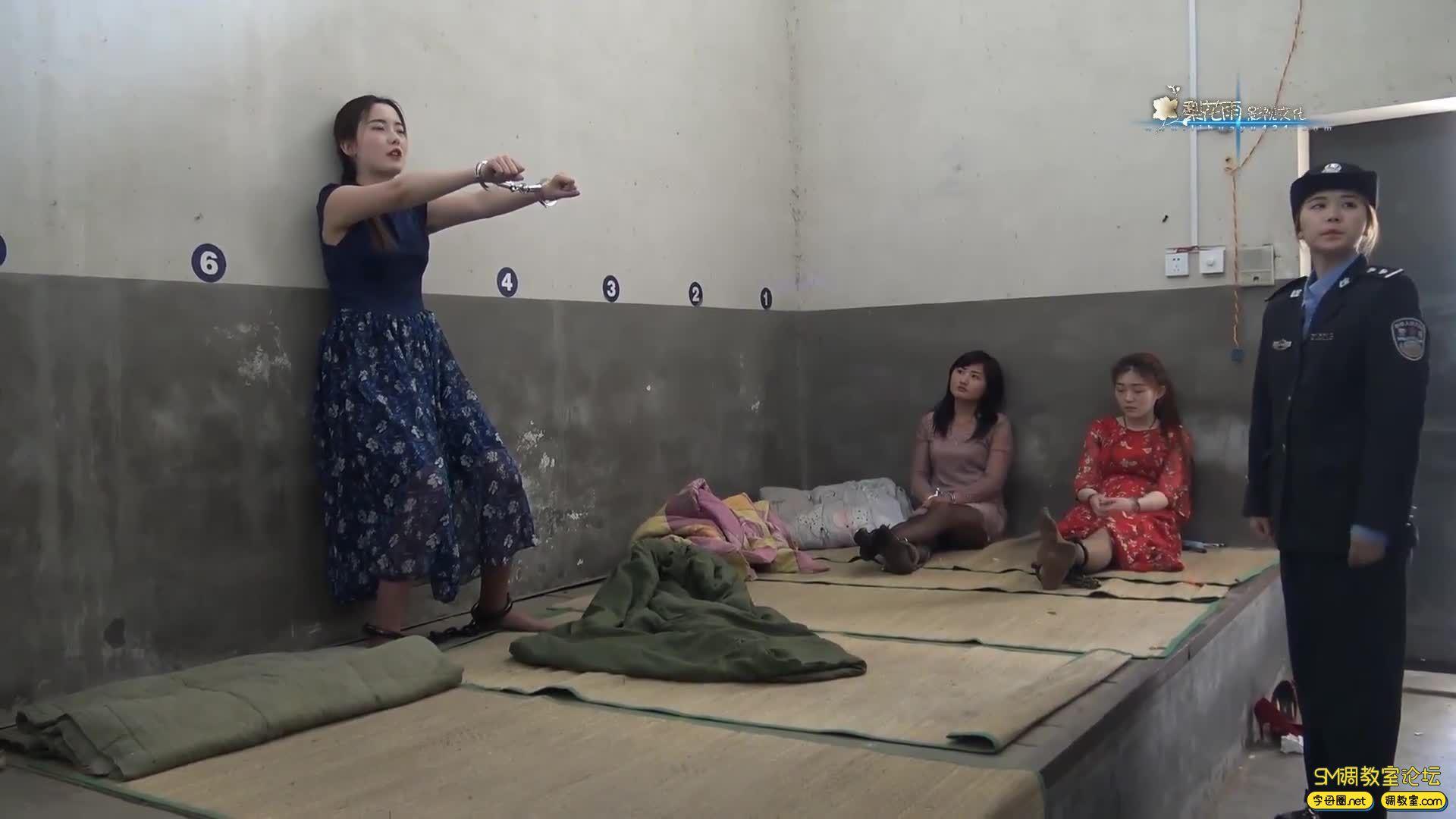 梨花雨_女魔术师体验记 完整版 囚犯体验-视频截图4