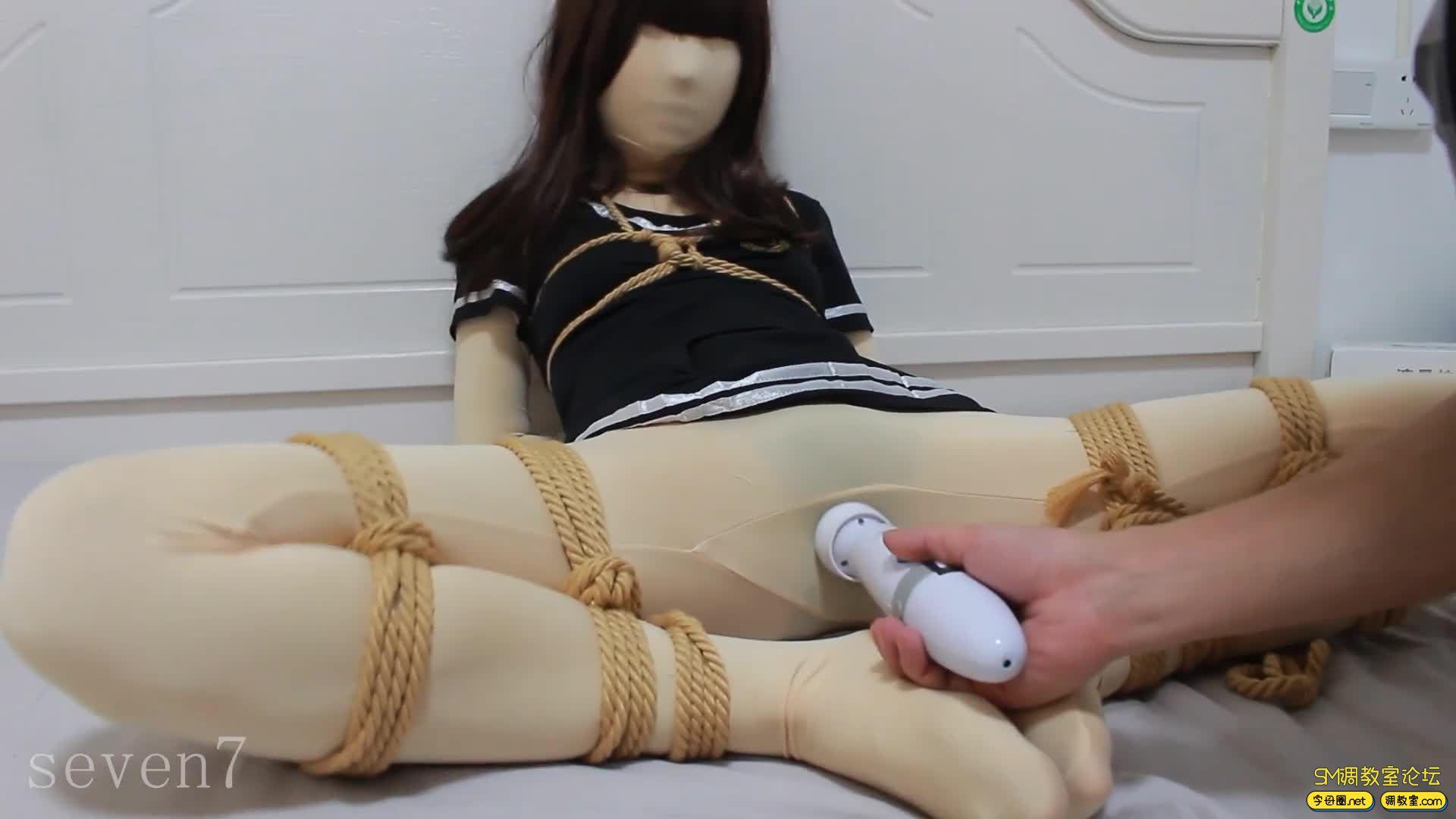 【FXX-01】新收一枚腿模小姐姐 凡小晓 白丝捆绑-视频截图8