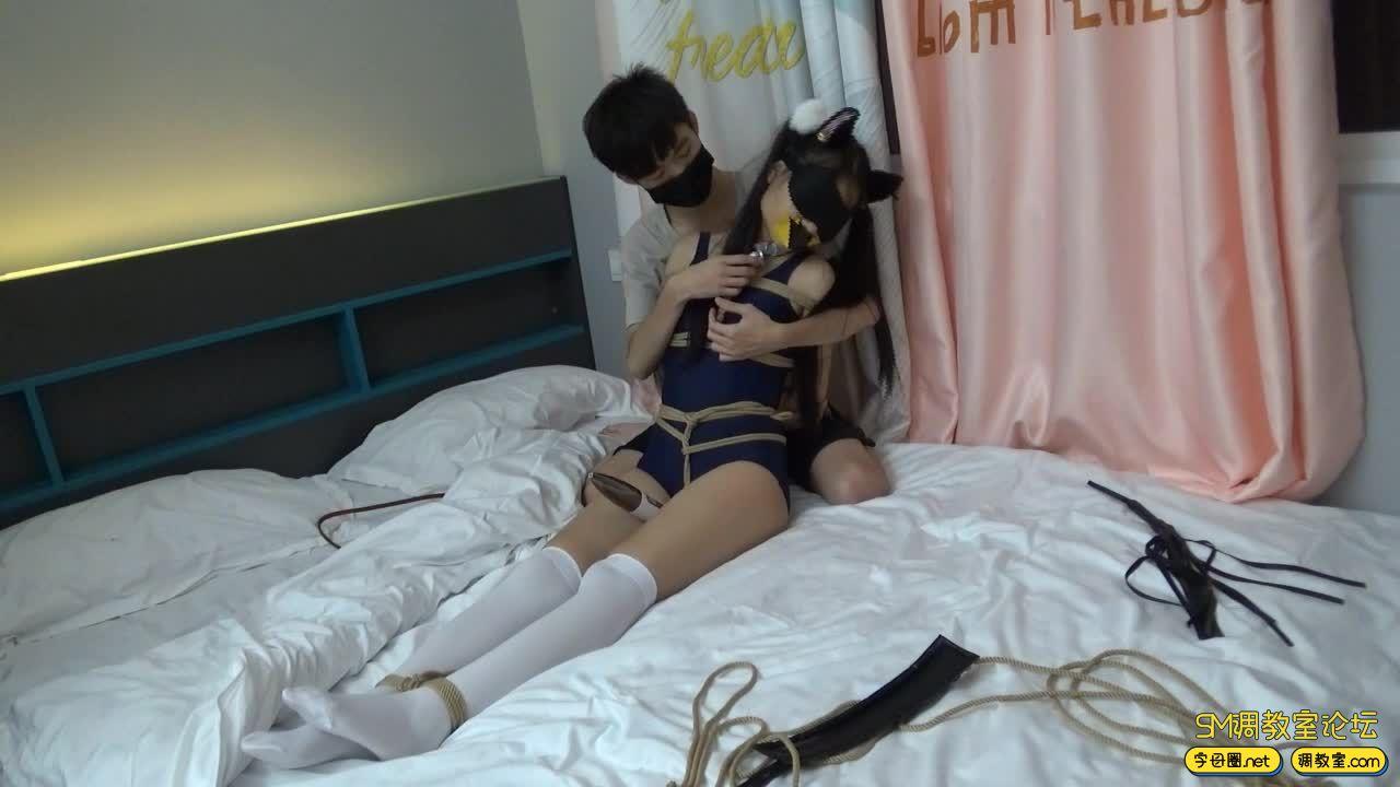 【film】死库水白丝紧缚调教-视频截图5