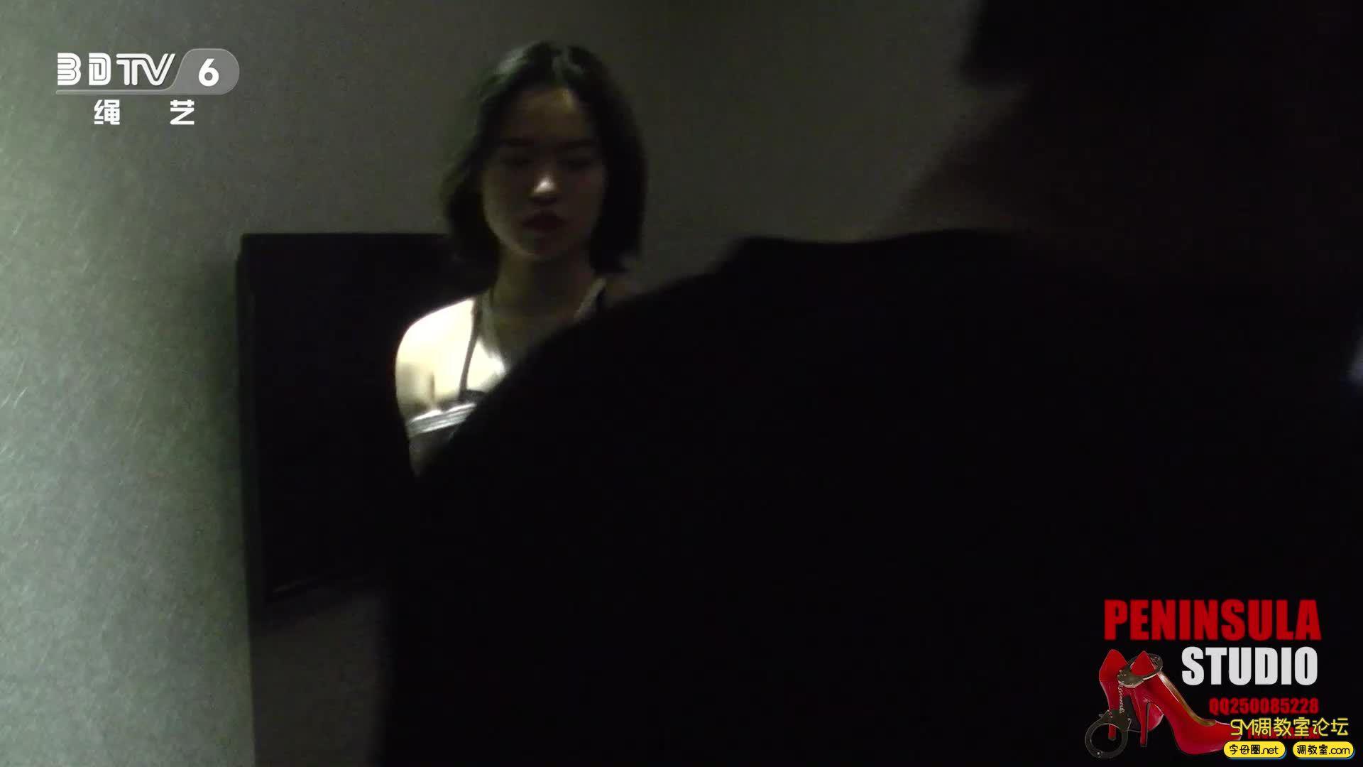 半岛束艺台_浴池激情前传:性感肚兜大美腿蛇缚-视频截图1